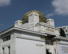The secession building at Vienna, built in 1897 by Joseph Maria Olbrich for exhibitions of the secession group. Photography by Karl Seitinger 2014 Group Photography, Exhibitions, Vienna, Joseph, Louvre, Building, Travel, Viajes, Buildings