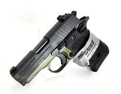 "Sig Sauer P938 Army Green / Black 9mm 3"" [New in Box] $639.99 | MMP Guns"