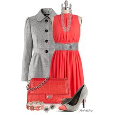 A fashion look from February 2013 featuring H&M coats, Donna Karan shoulder bags and Lipsy bracelets. Browse and shop related looks.
