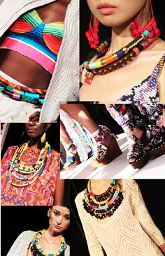 colorful tribal accessories