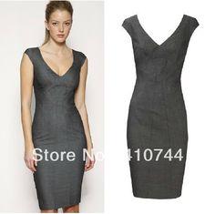 2013 New fashion women sleeveless slim dress womens Office
