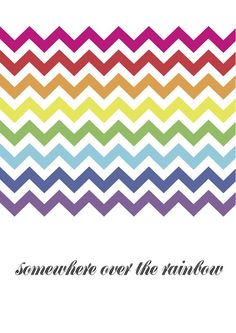 "Talking about rainbows, if you are planning such a party, then you must check out our free Somewhere over the Rainbow printables, which includes this great poster - which can be blown up ""huge"" to make a giant backdrop to your dessrt table, or printed small for favour tags!  http://youareingoodcompany.blogspot.com/2013/02/good-on-paper-free-printable-poster.html"