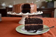 Playing with Flour: A super moist chocolate cake by Ina Garten