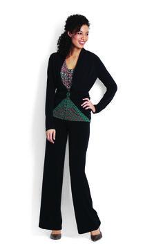 Jersey Cardigan, Jersey Embellished Tank & Classic Jersey Pant http://www.myjockeyp2p.com/wprice