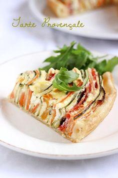 Tarte provençale