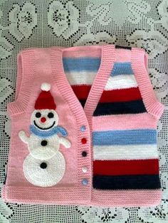How to tutorial knitting and crochet baby pattern free Baby Sweater Knitting Pattern, Knit Baby Sweaters, Baby Knitting Patterns, Baby Patterns, Stitch Patterns, Crochet Patterns, Knitting For Kids, Hand Knitting, Knit Or Crochet