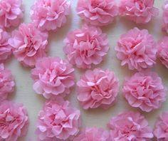 Desejo Concedido: Lindas flores em papel