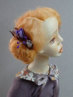 Souvenir Art doll Marie/ Souvenir handmade doll/ Collectible