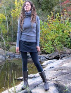 Gaia Conceptions - Simplicity Mini Skirted Leggings, $105.00 (http://www.gaiaconceptions.com/simplicity-mini-skirted-leggings/)