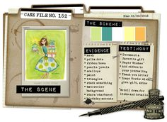Case File No. 152 {Case closes on January 25, 2015} - CSI: Color, Stories, Inspiration