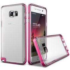 Verus Crystal Bumper Samsung Galaxy Note5 Case - Hot Pink