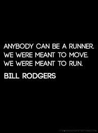 This is what I tell my cross country runners. If a dinosaur bursts through the wall, innately you know to RUN the other way. It may not be pretty, but do what nature has designed us to do.