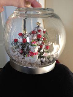 Snow globe I made