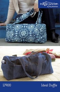 The Ideal Duffle pattern by Indygo Junction