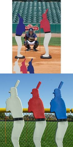 Other Baseball Training Aids 181332: Designated Hitter Youth Model - Baseball/Softball Dummy Pitching Practice BUY IT NOW ONLY: $329.0