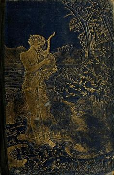 ✯ The Blue Poetry Book (1912) Illustrations by Henry Justice Ford  Book Cover ✯