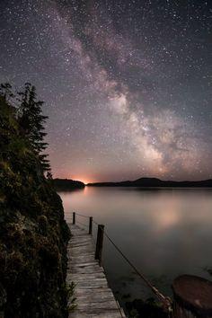 Milky Way Night Photography Night Photography, Landscape Photography, Nature Photography, Travel Photography, Photography Flowers, Beautiful Sky, Beautiful Landscapes, Beautiful World, Beautiful Artwork