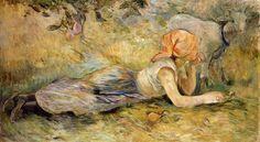 Berthe Morisot (1891)   Musée Marmottan Monet