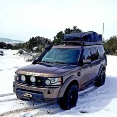 Home is where you park it By Land Rover Discovery Off Road, Range Rover Discovery, Land Rover Overland, Land Rover Defender, 4x4, Adventure Car, Badass Jeep, Cars Land, Honda Civic Si