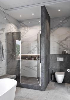 Bathroom Design Luxury, Modern Bathroom Design, Modern Bathrooms, Home Room Design, Dream Home Design, Bathroom Design Inspiration, Design Ideas, Dream House Interior, Dream Bathrooms
