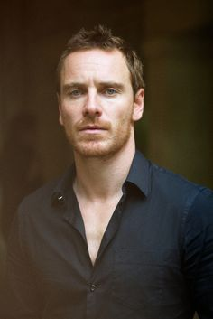 huh, I never realized how attractive Michael Fassbender is....