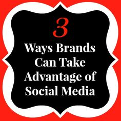 3 Ways #Brands can take advantage of Social Media http://www.quickalliance.com/the-3-best-ways-to-engage-with-your-twitter-followers/ #smm