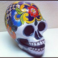 talavera skull - Google Search