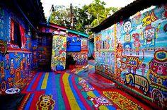 Rainbow Village, Taichung, Taiwan