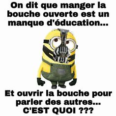 Citation Minion, Minion Humour, Minions Quotes, Geek Stuff, Lol, Messages, How To Plan, Funny, Fictional Characters