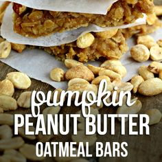 ... by | Pinterest | Oatmeal Breakfast Bars, Breakfast Bars and Oatmeal
