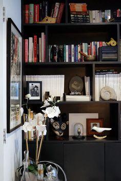 *black for dresser or bookcase