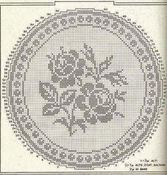 World crochet: Napkin 64