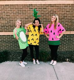 DIY Fruit Halloween Costume