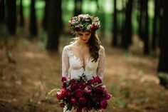 Dom & Tyrone - Adore Weddings Love You All, You Are Beautiful, Beautiful Soul, Forest Wedding, Flower Crown, Love Story, Bouquets, Modeling, Burgundy