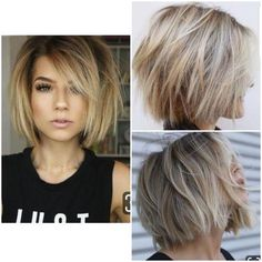 20 ideas on Bob's haircuts for women 2019 - NALOADED - Top Trends Short Bobs Haircuts Look Sexy and Charming! Bob Haircuts For Women, Short Bob Haircuts, Short Hairstyles For Women, Hairstyle Short, Hairstyles 2018, Short Haircuts For Round Faces, Choppy Bob Hairstyles For Fine Hair, Great Haircuts, Popular Hairstyles
