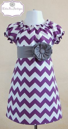 Easter dress, Spring dress, Peasant dress, Chevron dress, girls dress, toddler dress, dress-Girls sizes 3 months-6 years on Etsy, $44.00