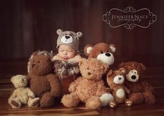 awe!!! could use stuffed bunnies with bunny costume Jennifer Nace Photography