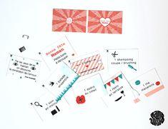 Les Petits Bons en Carnet (Free Printable) Fête des Mères - Sanglota.com
