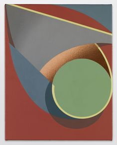 Tomma Abts b.1967 Oijen, 2014 Acrylic and oil on canvas