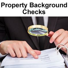 Property Background Documents are Public Records #NationalRecordsOffice #Property #BackgroundCheck #RealEstate