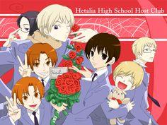 Hetalia/Ouran host club