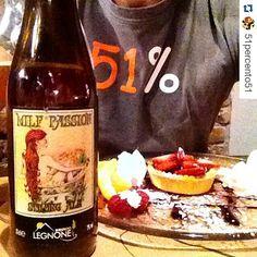 LEGNONISTI OVUNQUE! Thx @51percento51 #Beer #craftbeer #51percento #milfpassion # #birraartigianale #valtellina