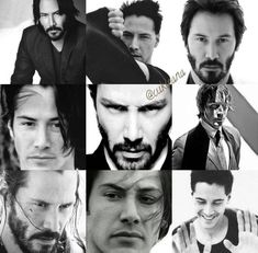 Keanu 💞❤️💞💋VAVAVOOM MY LOVE. Perhaps the very fabric of you is so very familiar, that we are more than from the same thread Alexandra Grant, Keanu Reaves, Blockbuster Film, Keanu Charles Reeves, Sweet Soul, Upcoming Movies, Nina Dobrev, Black And White Pictures, Good Looking Men