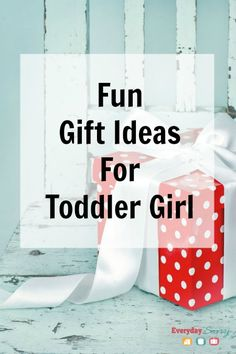 Fun Gift Ideas for Toddler Girl. If you are looking for fun or unique girl gifts, check out our gift list for toddler girls. Several of these are educational and help with skills-building like colors, matching and counting.