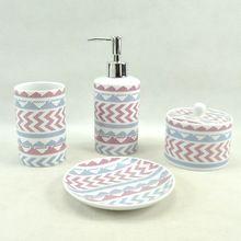 los proveedores de China 4pcs baño de cerámica moderna conjunto de accesorios