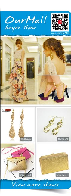 This is Camille Co's buyer show in OurMall; totally wearing four items below: 1.Water Drop Vintage gold color Dimensional hollow flowers earrings for Women 2.2015 free shipping Fashionable woman new simple chain contracted gold earrings 3.Crossbody Bag Gold Black Small Clutch ...If you'd like to buy above, please click the picture for detail. http://ourmall.com/?fmAJBf  #dress #whitedress #blackdress #mididress #springdress #longdress #sundress #stripedress #sexydress #elegantdress
