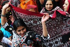 Ajrak the traditional attire from Sindh , Pakistan  is the idiosyncratic cloth used by the locals of Sindh and Southern Punjab as symbol of grace and high esteem.