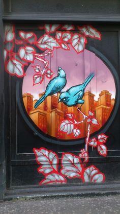 Street art ... Brighton, England
