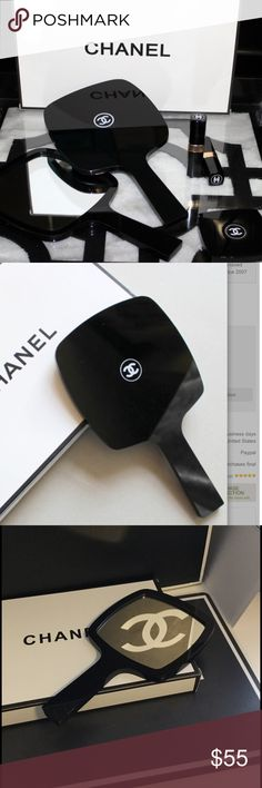 ‼️CLOSING SALE ‼️ Chanel Vanity Makeup Mirror New in box! Chanel Vanity Mirror. About 9 inches tall. CHANEL Makeup Brushes & Tools