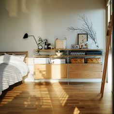 Awesome Bedrooms, Cool Rooms, Small Rooms, Interior Concept, Interior Decorating, Interior Design, Scandinavian Home, Living Room Inspiration, Minimalist Home